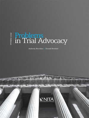 cover image of Problems in Trial Advocacy