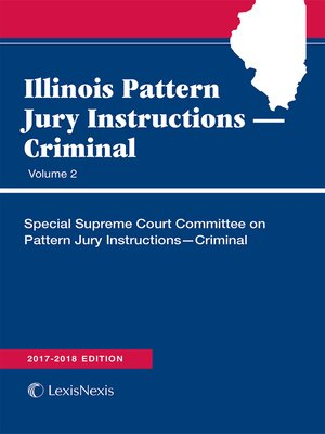 cover image of Illinois Pattern Jury Instructions: Criminal