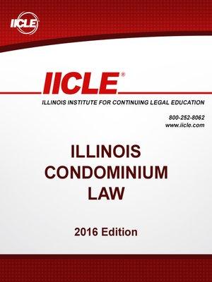 cover image of Illinois Condominium Law