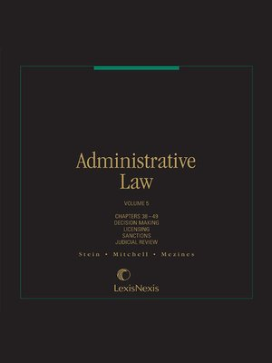 cover image of Administrative Law