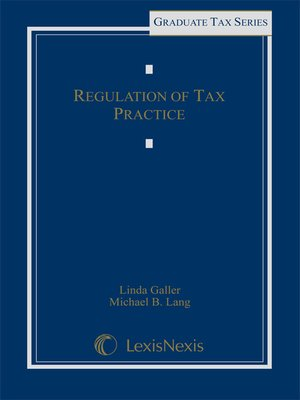 cover image of Regulation of Tax Practice