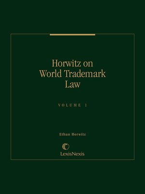 cover image of World Trademark Law and Practice