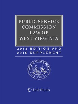 cover image of Public Service Commission Law of West Virginia