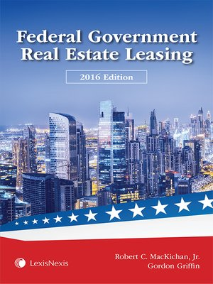 cover image of Federal Government Real Estate Leasing