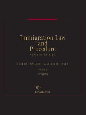 cover image of Immigration Law & Procedure