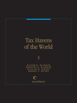 cover image of Tax Havens of the World