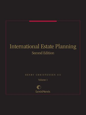 cover image of International Estate Planning