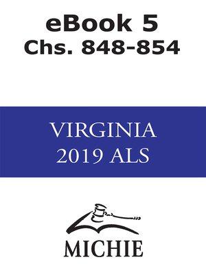 cover image of Virginia Advance Legislative Service