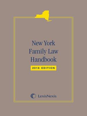cover image of LexisNexis New York Family Law Handbook