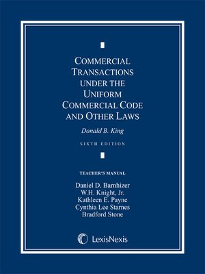 business law 3202 louisiana commercial transactions