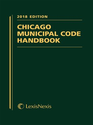 cover image of Chicago Municipal Code Handbook