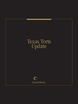 cover image of Texas Torts Update