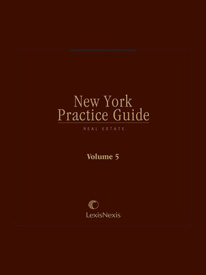 cover image of New York Practice Guide: Real Estate