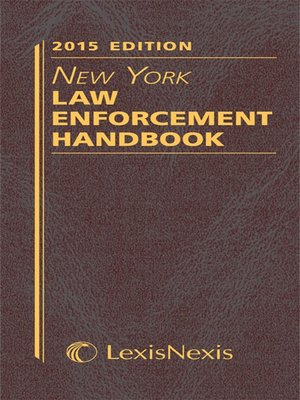 cover image of New York Law Enforcement Handbook