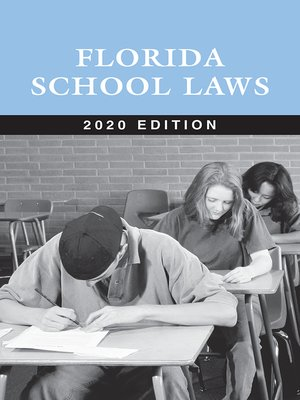 cover image of Florida School Laws
