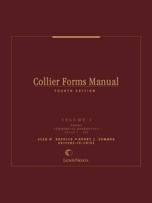 cover image of Collier Forms Manual