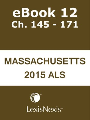 cover image of Annotated Laws of Massachusetts Advance Legislative Service (ALM ALS)