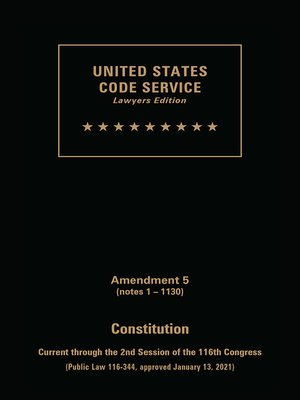 United States Code Service by Publisher's Editorial Staff
