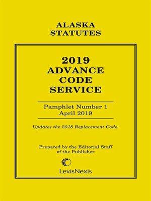 cover image of Alaska Advance Code Service