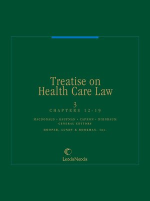cover image of Treatise on Health Care Law