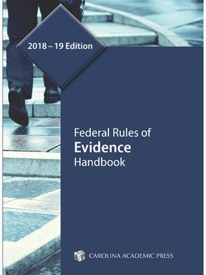 cover image of Federal Rules of Evidence Handbook
