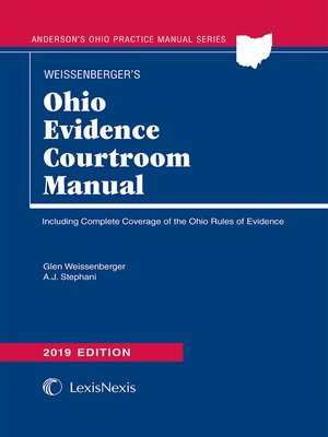 cover image of Ohio Evidence Courtroom Manual