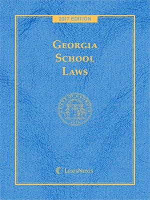 cover image of Georgia School Laws