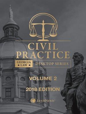 cover image of Georgia Civil Practice Law