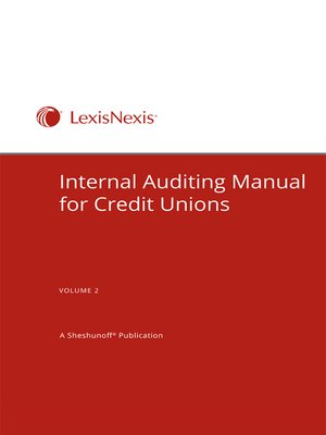 cover image of Internal Auditing Manual for Credit Unions