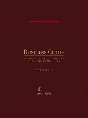 cover image of Business Crime