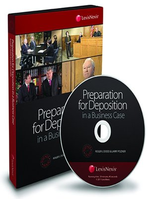 cover image of Preparing for a Deposition in a Business Case