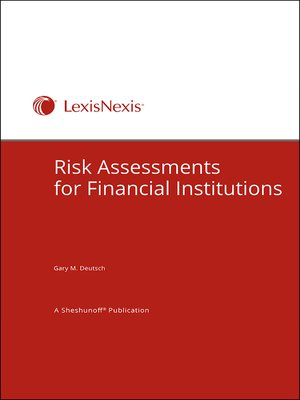 cover image of Risk Assessments for Financial Institutions