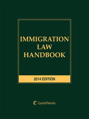 cover image of Immigration Law Handbook