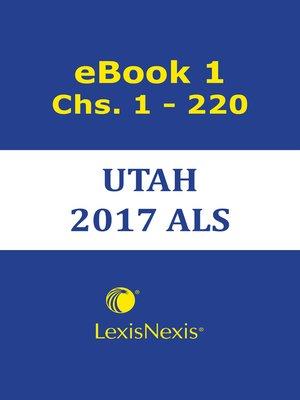 cover image of Utah Advance Legislation