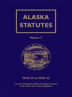 cover image of Alaska Statutes