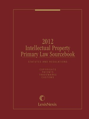 cover image of Intellectual Property Primary Law