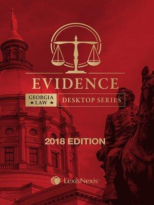 cover image of Georgia Evidence