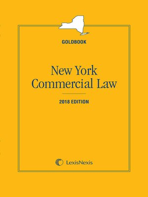 cover image of New York Commercial Law