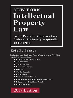 cover image of New York Intellectual Property Law