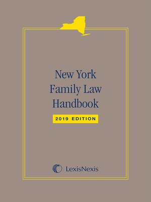 cover image of New York Family Law Handbook