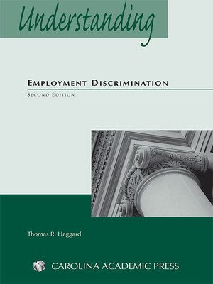 Cover of Understanding Employment Discrimination Law by Thomas R. Haggard