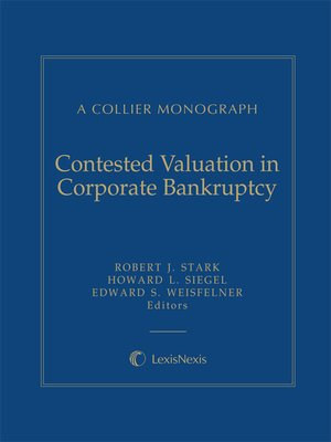 cover image of Contested Valuation in Corporate Bankruptcy
