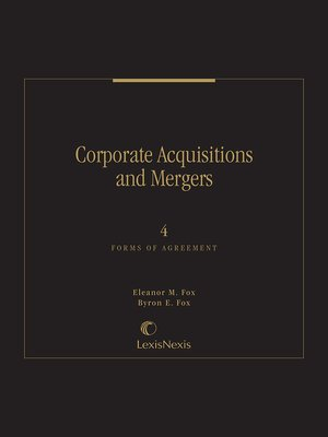 cover image of Fox & Fox: Corporate Acquisitions and Mergers