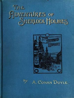 cover image of Adventures of Sherlock Holmes