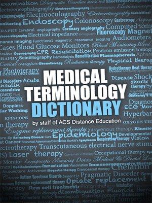 Medical Terminology Dictionary by John Mason · OverDrive (Rakuten