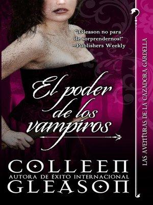cover image of El poder de los vampiros