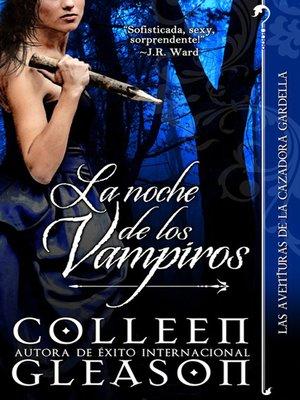 cover image of La noche de los vampiros
