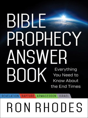 cover image of Bible Prophecy Answer Book