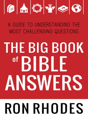 cover image of The Big Book of Bible Answers