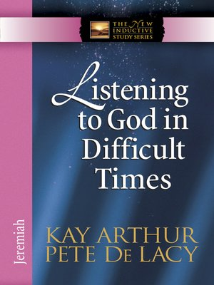 cover image of Listening to God in Difficult Times